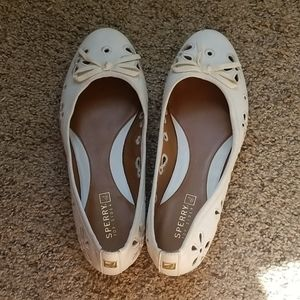 Worn once sperry flats